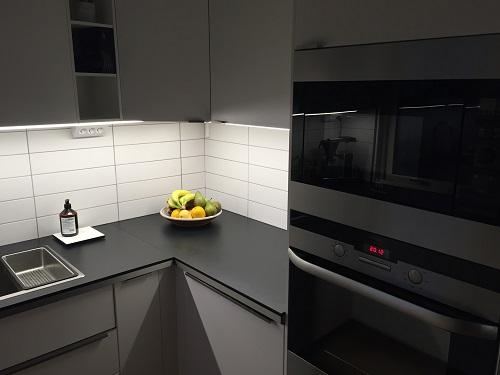 Kök med CabiTilt